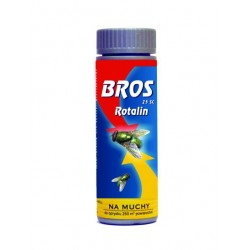 BROS Rotalin 25SC 100ml - preparat do oprysku na muchy